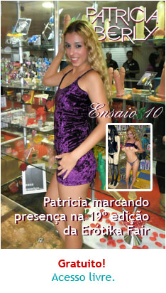 Fotos de Patricia Kimberly na Erótika Fair 2012