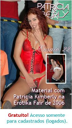 Grande achado!!! Material com Patricia Kimberly na Erótika Fair de 2006