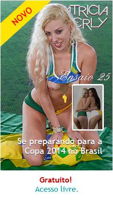 Patricia Kimberly se preparando para a Copa da FIFA 2014 no Brasil - com participação de Erica Vieira title=