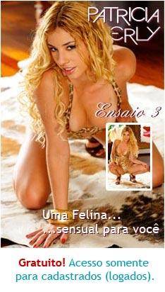 Patricia Kimberly Ensaio felina sensual