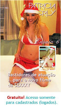 Patricia Kimberly Ensaio Bastidores filme da SEXXXY